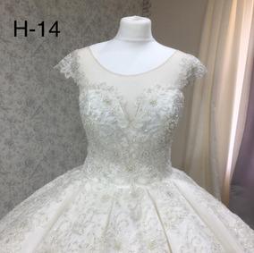 Vestido De Novia Blanco Arrastre H14