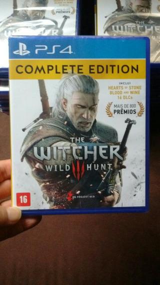The Witcher 3 Complete Edition Ps4 Novo Lacrado Midia Fisica