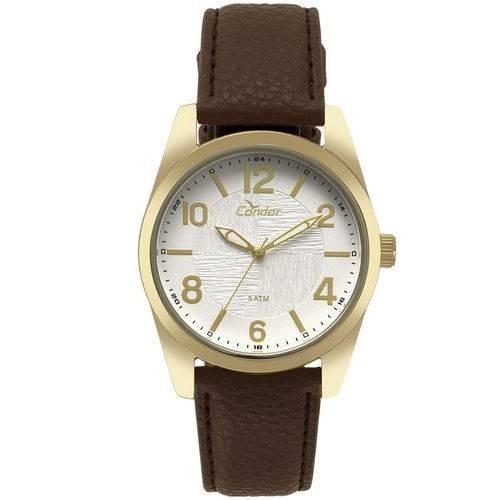 Relógio Condor Masculino Dourado Co2035kye/k2b + Brinde
