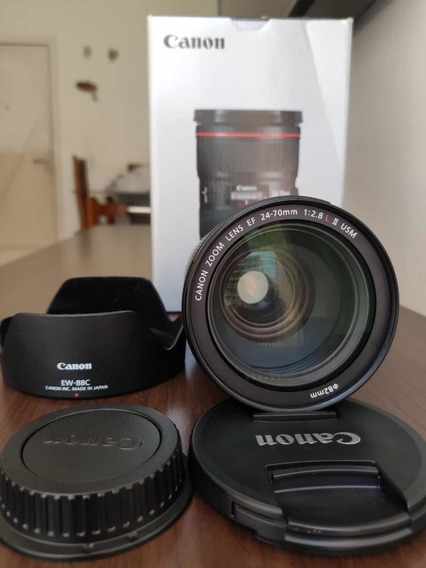 Lente Canon Ef 24-70mm 2.8 L Ii Usm