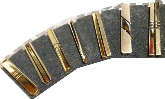 Trabacorbata 45mm - Dorado - Para Corbatin - Excelente Calidad - Varios Modelos