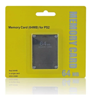 Tarjeta De Memoria Ps2 64 Mb + Chip Virtualfree Mcboot