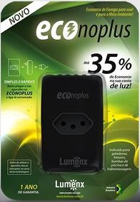 3 Pçs Economizador De Energia Econoplus Reduz Conta Até 35%