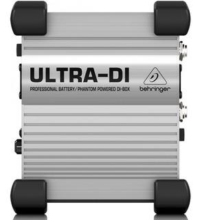 Direct Box Behringer Ultra Di100 Ativo