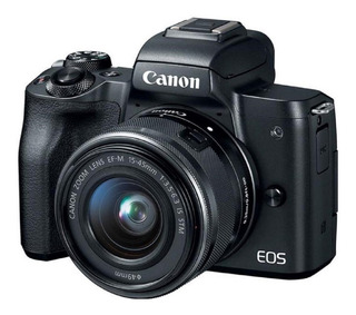 Cámara Canon Eos M50 24 Mpx Ef-m 15-45 Is Stm Video 4k