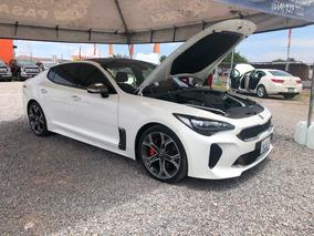 Kia Stinger 2018 Gt Line Blanco 3.3 Turbo Financiado