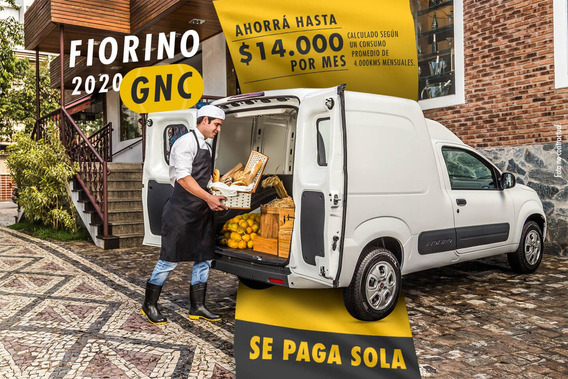 Fiat Fiorino Top Gnc De Fabrica En Garantia - !!se Paga Sola