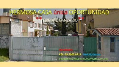 Hermosa Casa **remate Bancario** Toluca