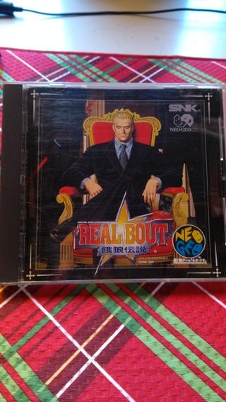 Real Boult Fatal Fury Original / Neo Geo Cd / Vers. Jp