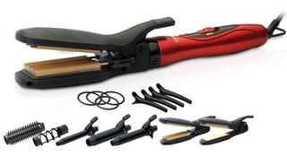 Modelador Gama Too Chic Kit Accesorios Rizador Alisador Buclera Ondas Anti Frizz Brillo Y Suavidad - Garantia Oficial