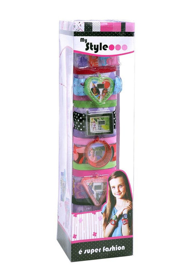 Relogios My Style Box Multikids