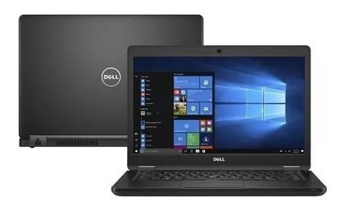 Notebook Dell Latitude 5480 I5 6ª Geração 8gb Ssd 256gb 14