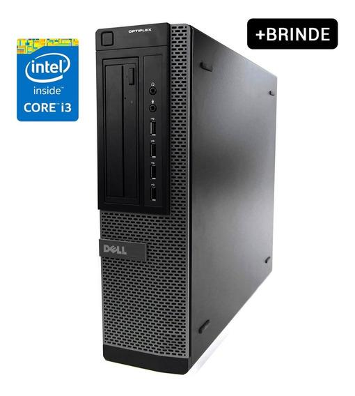 Cpu Desktop Dell Intel I3 3° Gerac. 4gb Hd 250gb Pc +brinde