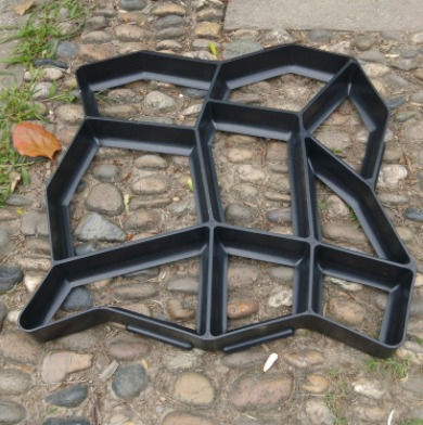 Molde Para Cemento, Pisos 50x50cm(senderos,camino De Jardin)