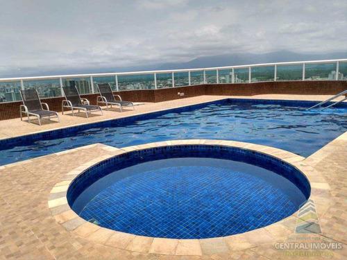 Imagem 1 de 25 de Apartamento Com 3 Dorms, Guilhermina, Praia Grande - R$ 700 Mil, Cod: 9581 - V9581