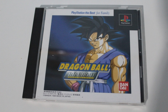 Dragon Ball Final Bout - Game Original, Japonês - Ps1