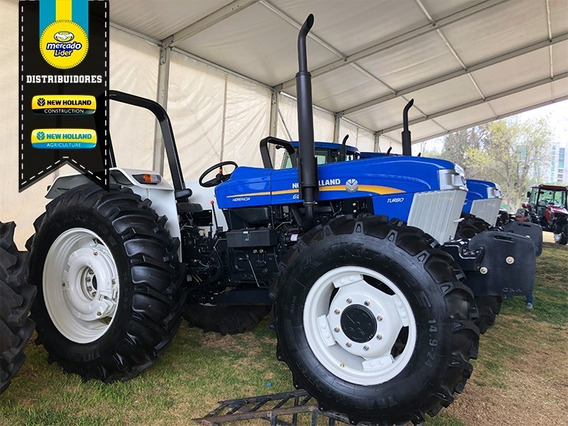 Tractor Agricola New Holland 6610s Fwd Herencia
