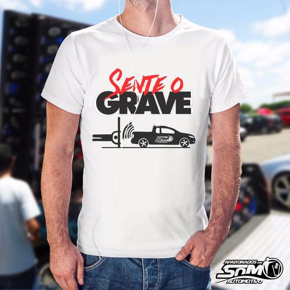 Camiseta Sente O Grave - Apaixonados Por Som Automotivo