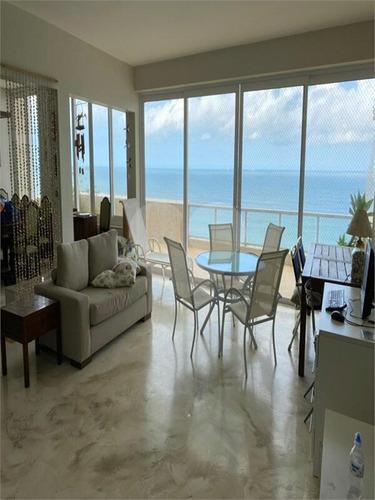 Imagem 1 de 30 de Cobertura, Apartamento, Venda, Frente Mar Na Praia De Pitangueiras - Reo547914