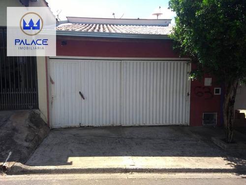 Casa Com 2 Dormitórios À Venda, 60 M² Por R$ 215.000,00 - Parque Residencial Monte Rey - Piracicaba/sp - Ca0050