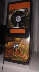 Pc Gamer Completo Monitor Molser Teclado Caixa De Som