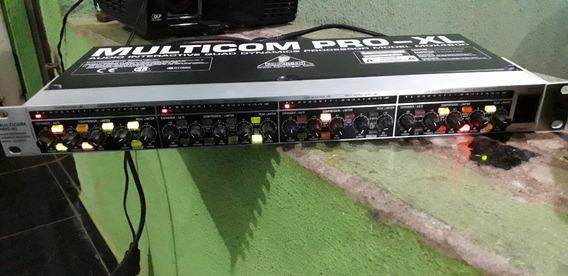 Compressor Behringer Mdx460 Multicom Pro Xl Zero!