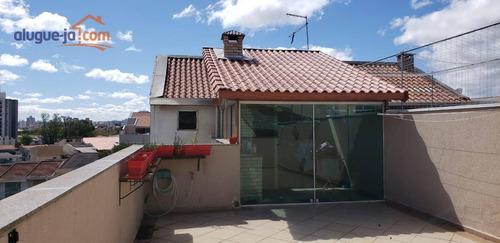 Cobertura Com 2 Dormitórios À Venda, 155 M² Por R$ 450.000 - Vila Pires - Santo André/sp - Co0225