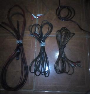 Cables Sonido Para Carros
