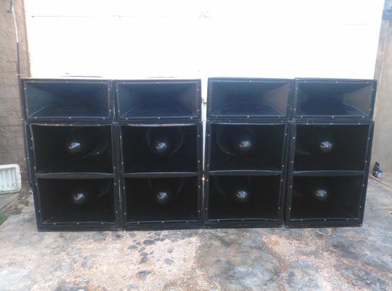 Caja Corneta Sp4 Tipo Bala De 15 Pulgadas Medios Das 15b