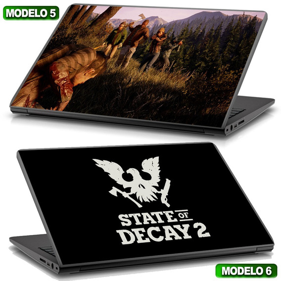 Adesivo Para Notebook State Of Decay2 Gamer Top D+ Compre Já