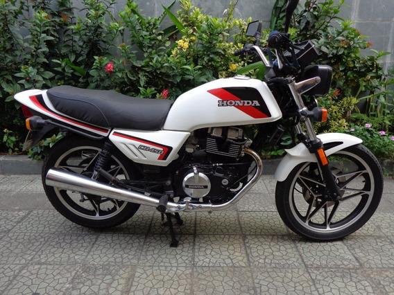 Honda Cb 450 Branca Original