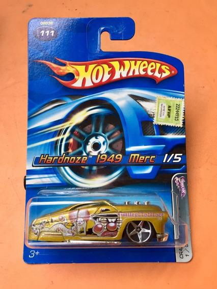 Hot Wheels - Hardnoze 1949 Merc # 111 - Dorado - 03 R