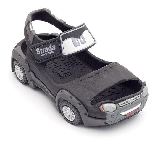 Papete Carro Strada Infantil - Preto
