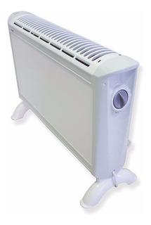 Calefactor Convector Bajo Consumo, 3 Niveles, 2000 Watts