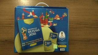 Álbum Figurinhas Copa 2018 Edição Premium Panini