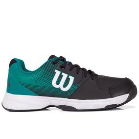 Tênis Wilson Ace Plus Preto E Verde