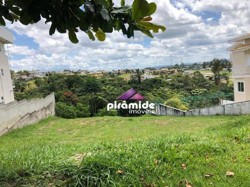 Terreno À Venda, 1000 M² Por R$ 485.000,00 - Parque Mirante Do Vale - Jacareí/sp - Te1555