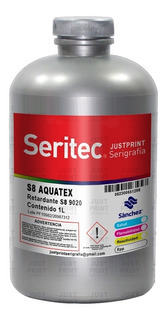 1 Litro Retardante Aquatex Textil Base Agua Serigrafia Sanch