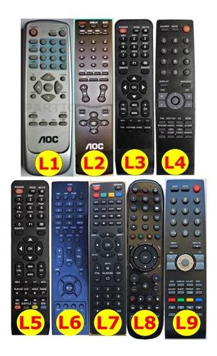 Control Remoto Lcd Led Aoc Directo No Universal Envío