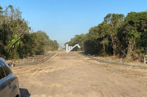 Imagem 1 de 5 de Lote De Esquina No Balneário Gaivota, Em Itanhaém, Ter042