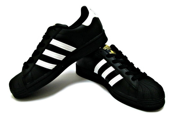 Tenis adidas Negro Superstar Ef5398