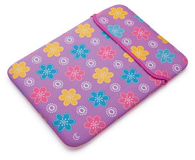 Capa Neoprene Tablet Estampa Flor 10