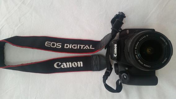 Câmera Fotográfica Canon Eos Rebel Xs Eos 1000 D Usada