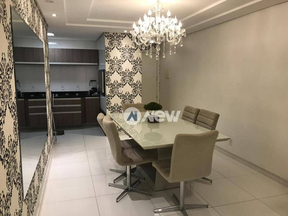 Apartamento Com 3 Dormitórios À Venda, 87 M² Por R$ 525.000 - Rondônia - Novo Hamburgo/rs - Ap2727