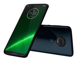Smartphone Motorola, Moto G7 Plus 64 Gb, 6.24 , Indigo Orig