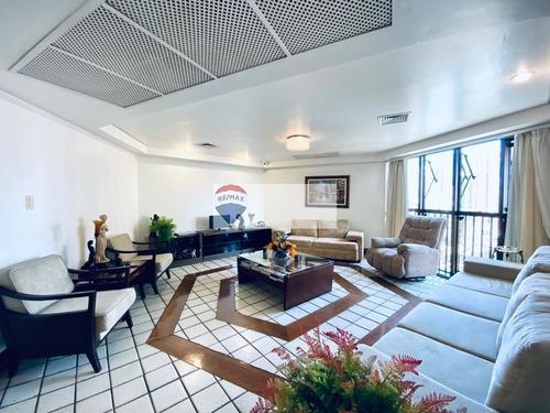 Imagem 1 de 23 de Apartamento - 5 Quartos - Ed. Leonor Fernando - Batista Campos - Belém/pa - Ap0715
