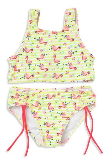 Biquíni Teen Lacinho Puket Flamingo Amarelo