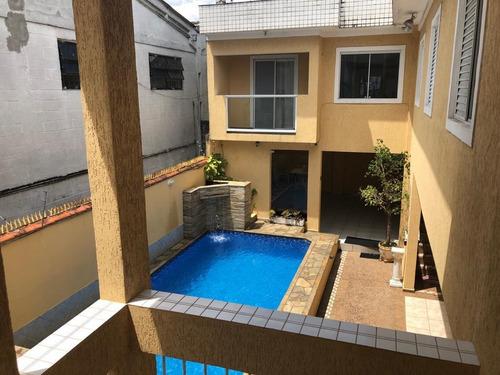 Casa Com 2 Dormitórios Para Alugar, 62 M² Por R$ 1.500,00/mês - Vila Guilhermina - Praia Grande/sp - Ca0805