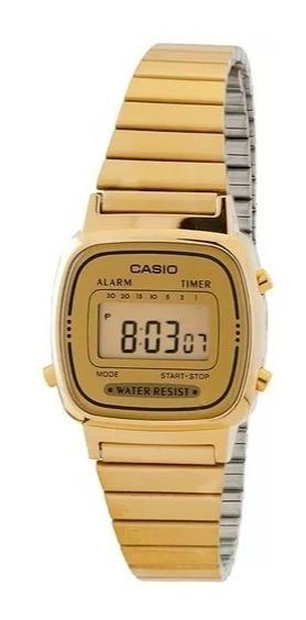 Relógio Feminino La670 Dourado Dourado Tamanho Mini