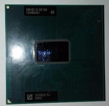 Processador Intel Mobile Celeron Dual Core 1000m Sr102